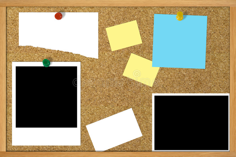 Download Corkboard stock image. Image of remember, remind, notification - 738199