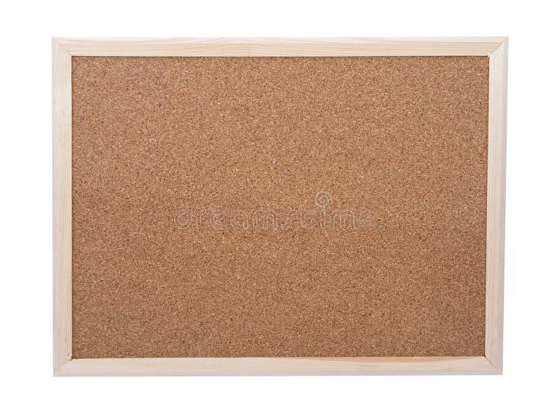 Corkboard in bianco fotografie stock