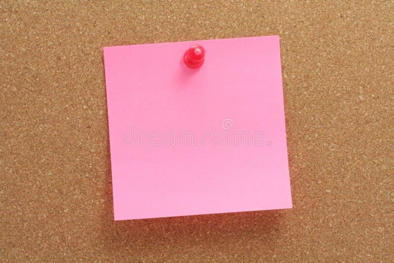 corkboard notepaper zdjęcia royalty free
