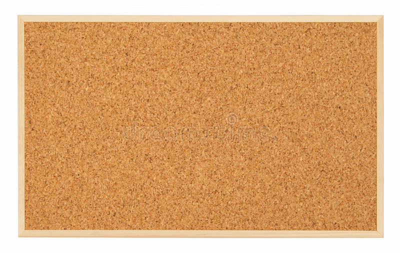Corkboard (placa de boletim) foto de stock royalty free