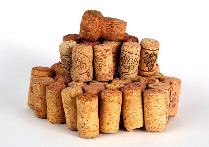 corks lott royaltyfri fotografi