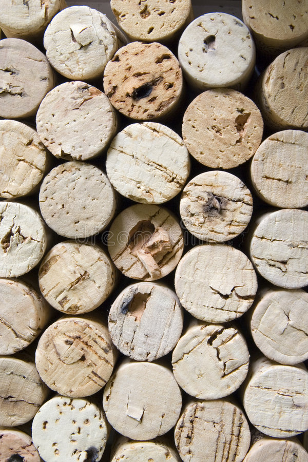 Corks vertical royalty free stock image