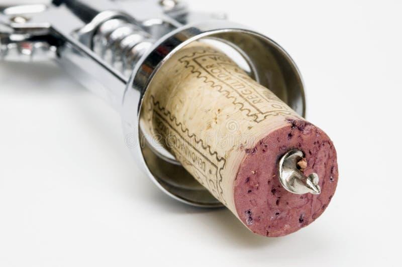 Corkscrew stock image