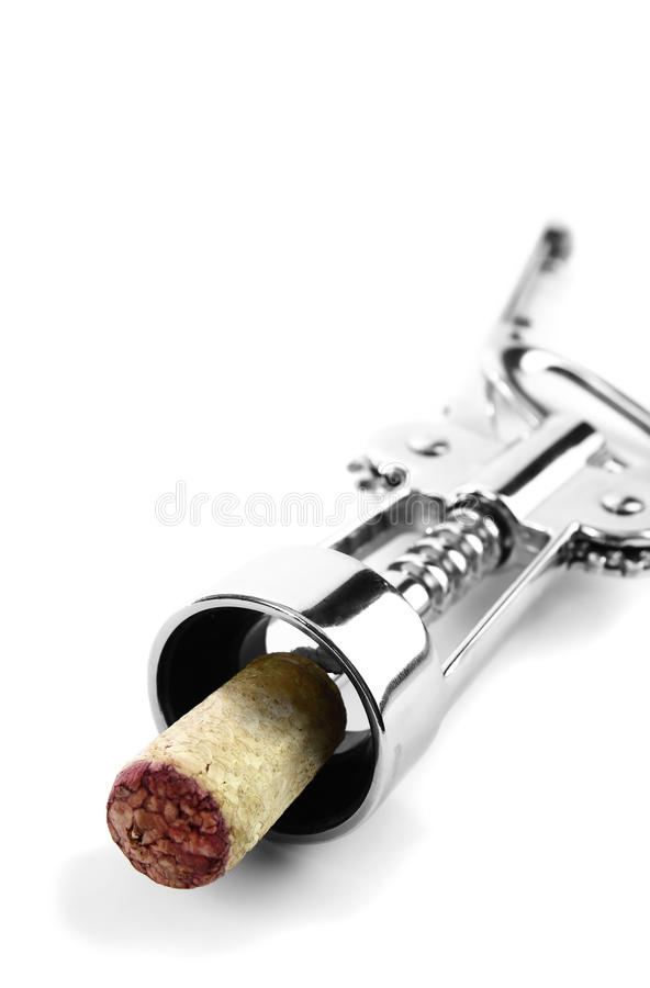 Download Corkscrew With Cork Attached Stock Photo - Image: 24293450