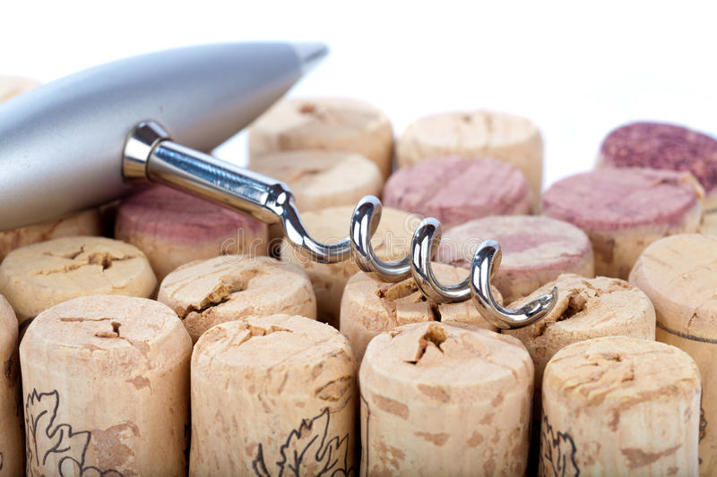 Download Corkscrew And Corks Royalty Free Stock Photo - Image: 23824565