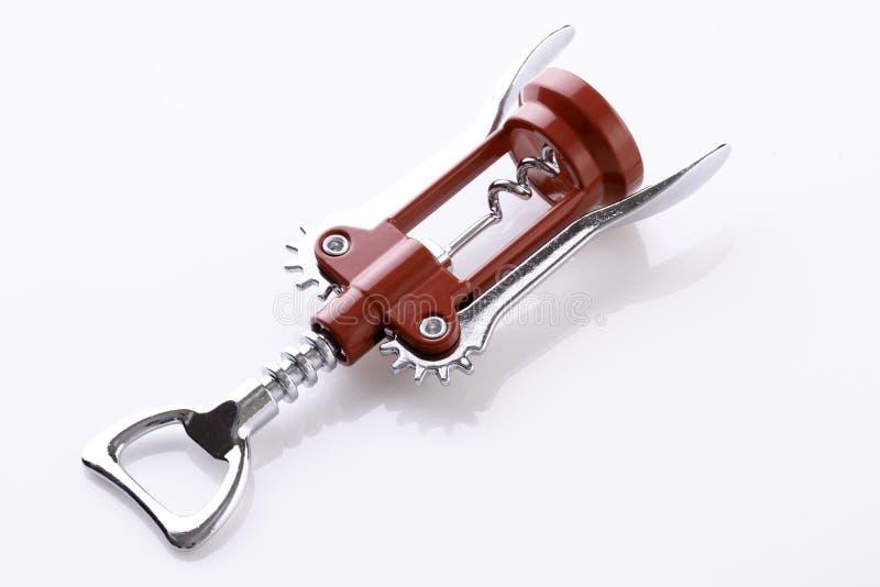 Corkscrew lub wina otwieracz obrazy stock