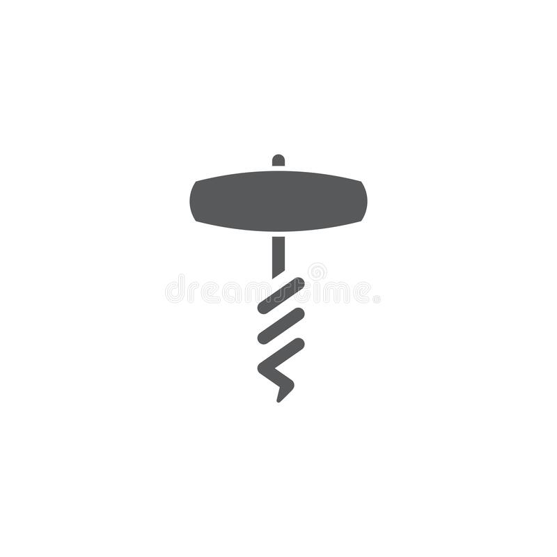 Free Corkscrew Vector Icon Symbol Tool Isolated On White Background Stock Photography - 178445442