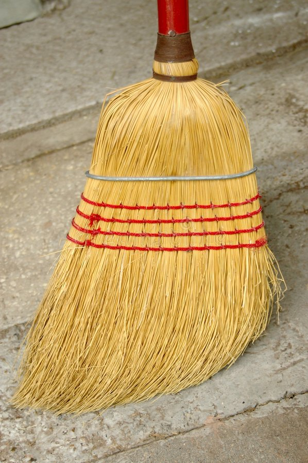 Download Corn Broom Royalty Free Stock Photo - Image: 6899515