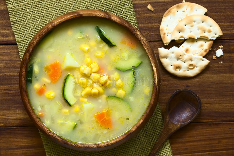 Corn Chowder royalty free stock photos