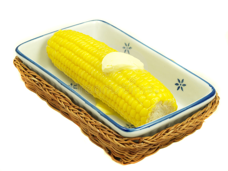 Download Corn on the cob stock photo. Image of melted, kernel, ingredient - 7096590