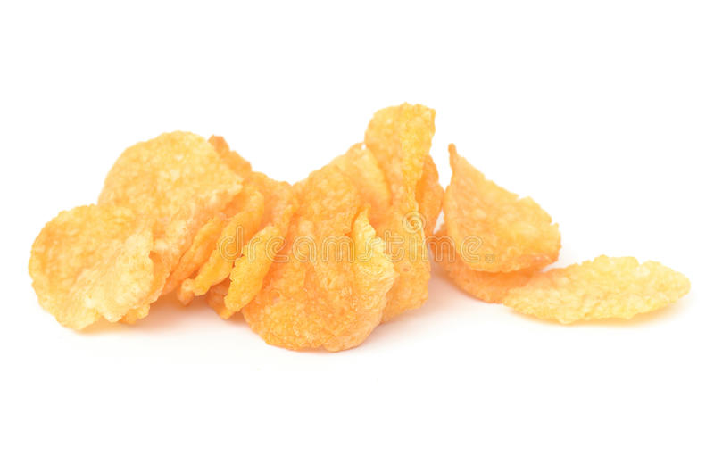 Download Corn flake stock photo. Image of health, stack, meal - 28264142