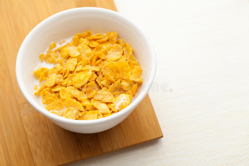 Download Corn flake in bowl stock photo. Image of white, food - 31972334