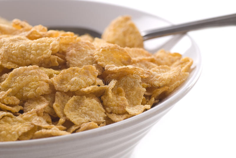 Download Corn Flakes stock photo. Image of close, nobody, cereal - 12125750
