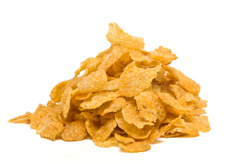 Download Corn Flakes stock image. Image of energy, isolated, food - 15844217
