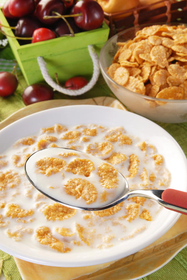 Corn-Flakes stockbild