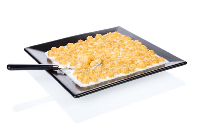 Corn flakes royalty free stock image