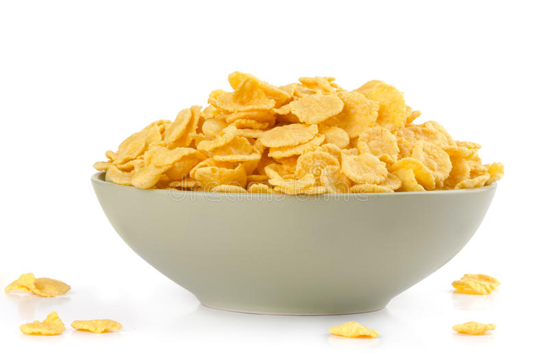 Download Corn flakes stock photo. Image of cornflakes, corn, yellow - 25860424