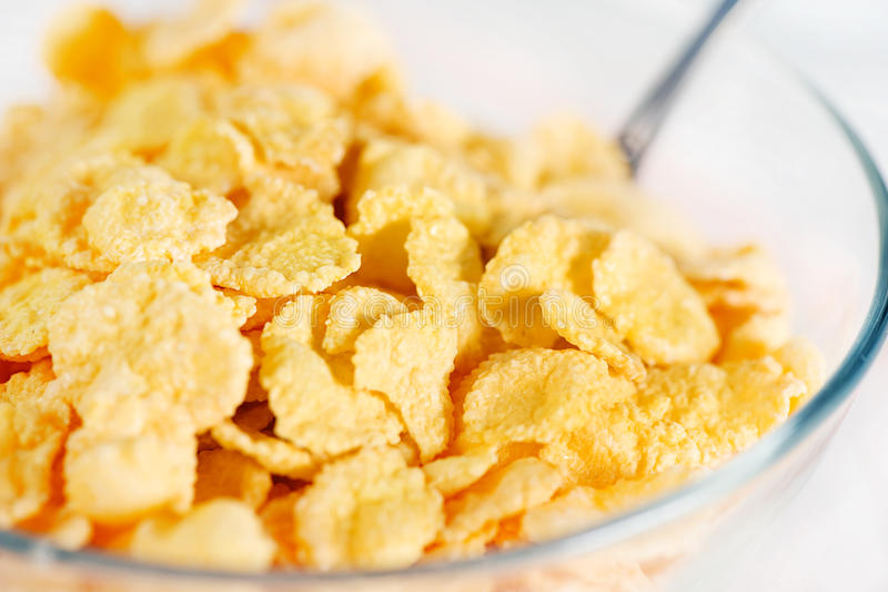 Download Corn Flakes stockfoto. Bild von energie, gesund, niemand - 27726452