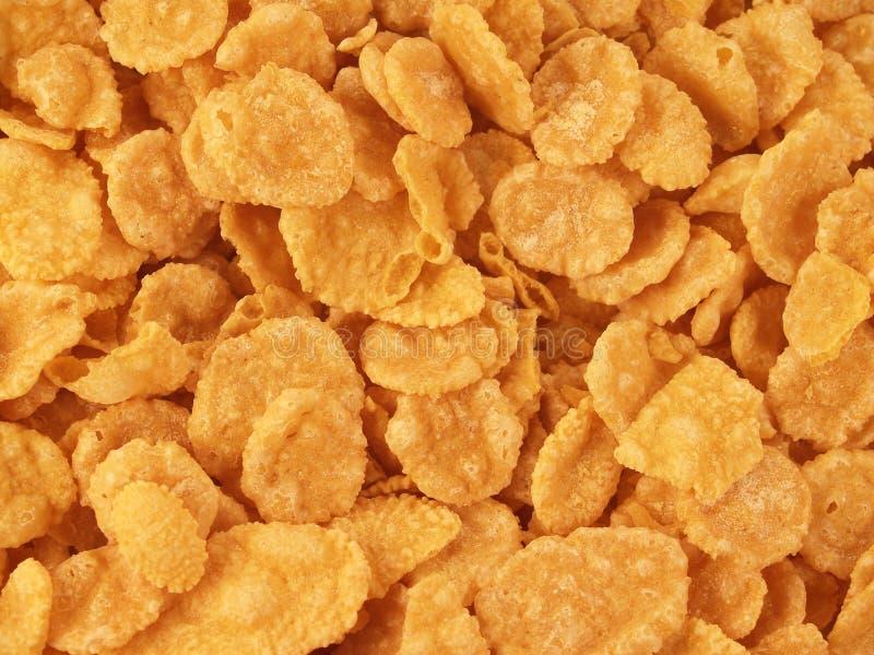 Corn-Flakeshintergrund lizenzfreie stockfotos