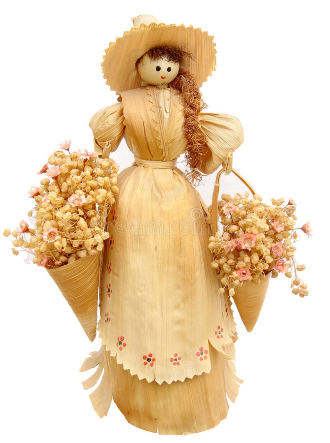 Free Corn Husk Doll Stock Image - 9953031