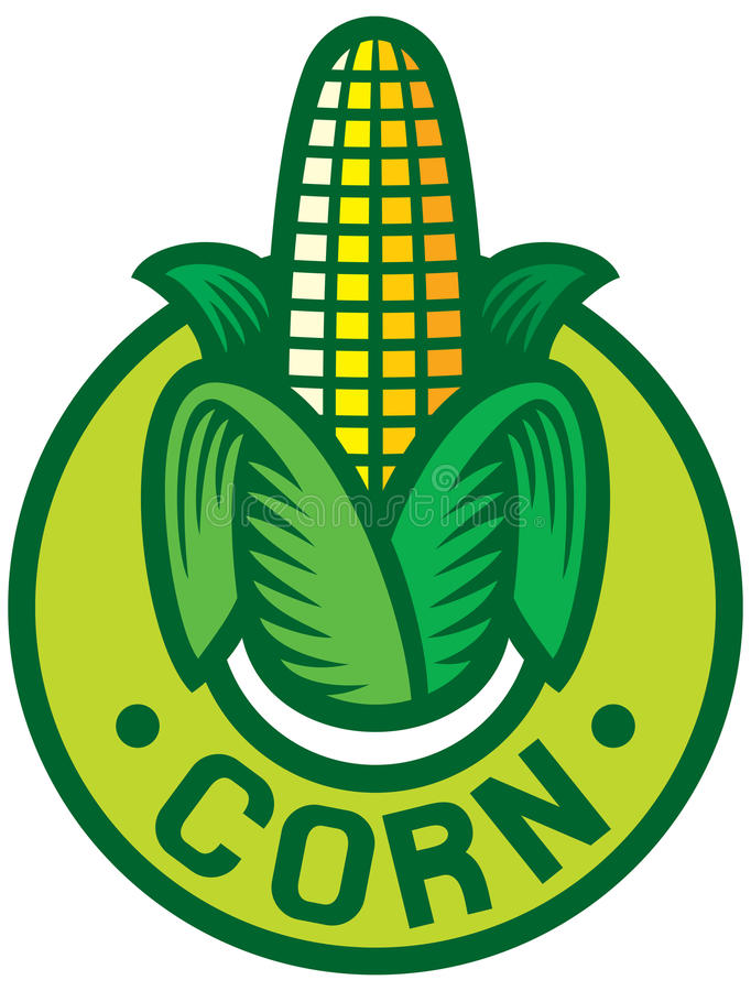 Download Corn Labe Royalty Free Stock Photos - Image: 26261678