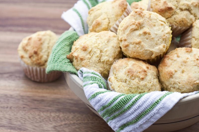 Corn Muffins royalty free stock images
