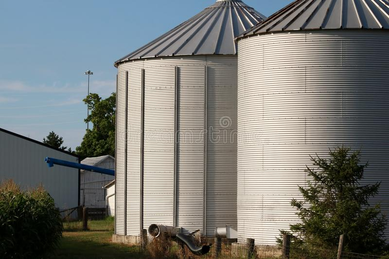 Corn Silo stock photos