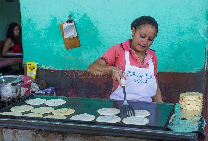 Corn tortilla dough factory royalty free stock photography