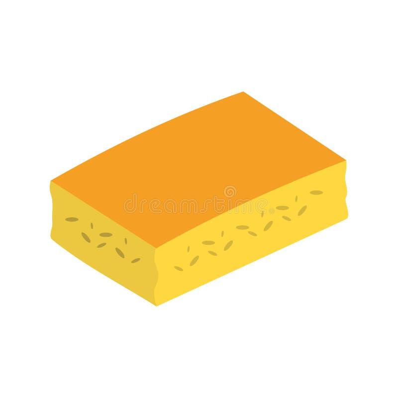 cornbread иллюстрация вектора
