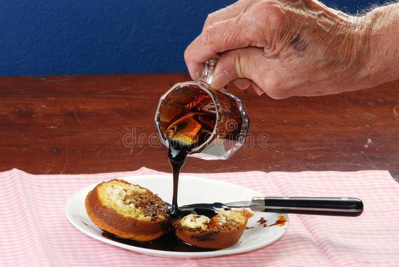 Download Cornbread and Molasses stock image. Image of gingham - 19533509