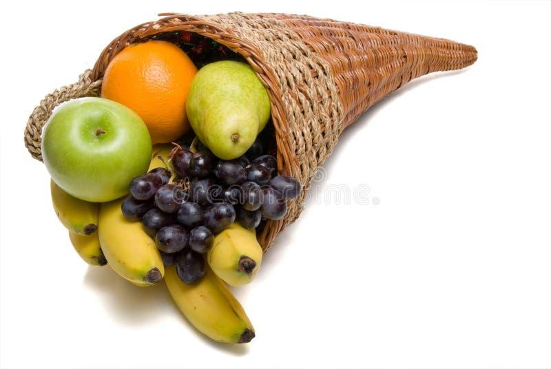 Corne d'abondance de fruit image stock