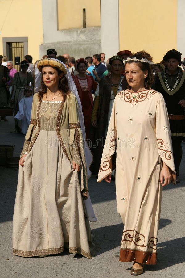 Corneliano - Medieval Festival Editorial Photography