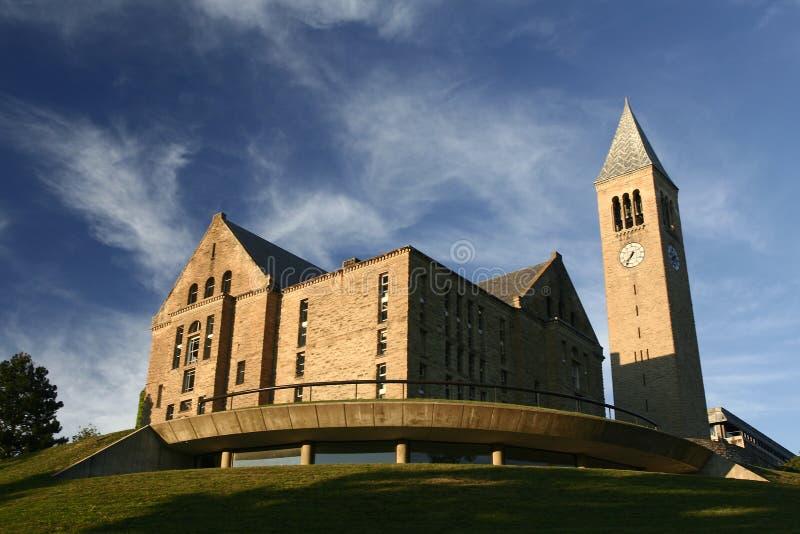 cornell biblioteczni s uniwersyteta uris fotografia royalty free