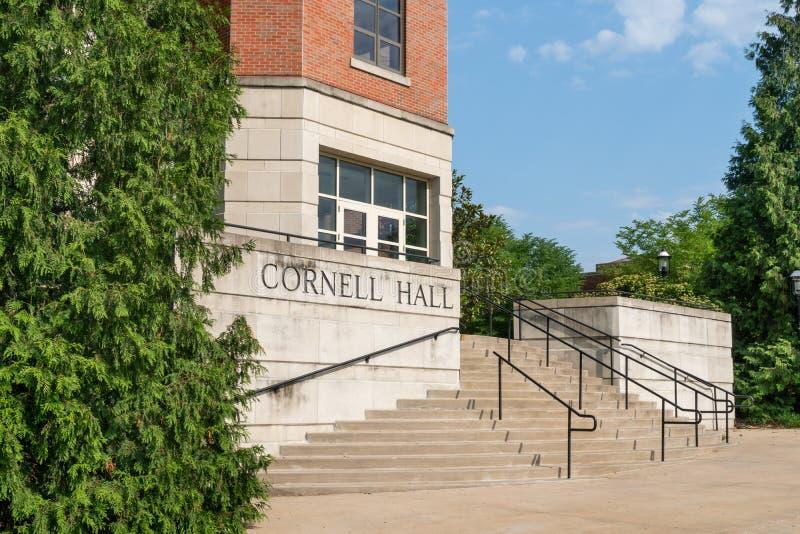 Cornell Hall na universidade de Missouri foto de stock royalty free