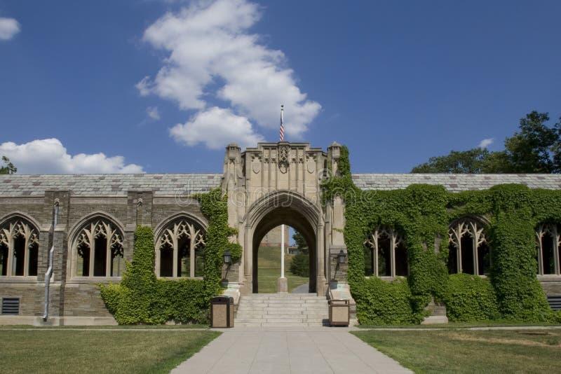 Cornell Universiteit royalty-vrije stock afbeelding