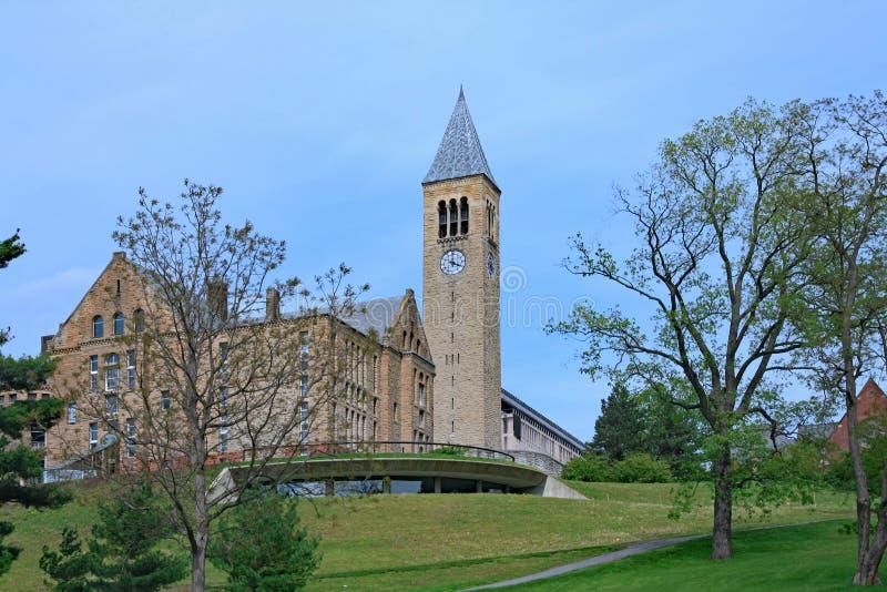 Cornell University Campus stockbilder