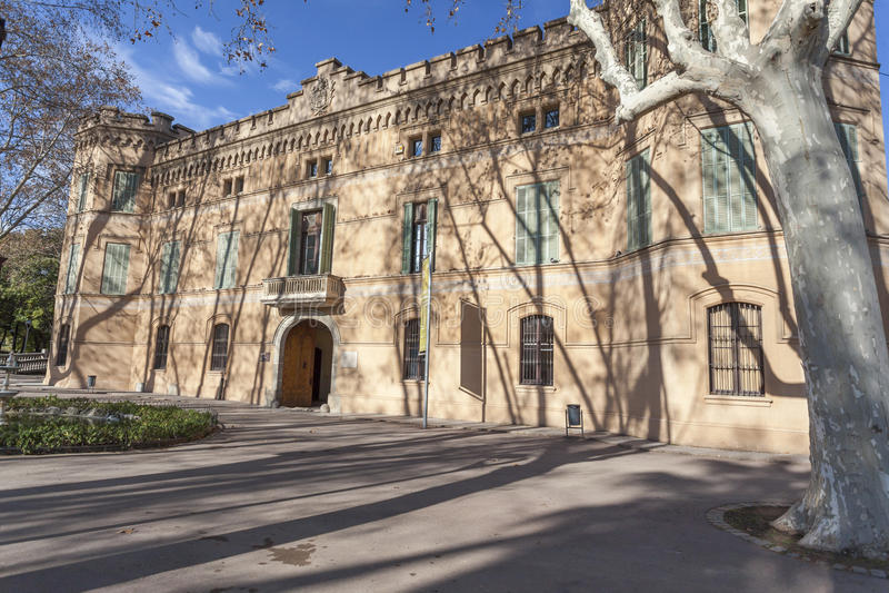 Cornella de Llobregat,卡塔龙尼亚,西班牙 库存照片