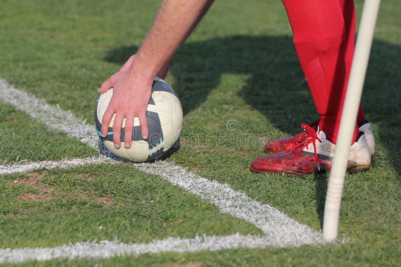 Download Corner stock image. Image of flag, legs, shoes, player - 23888307