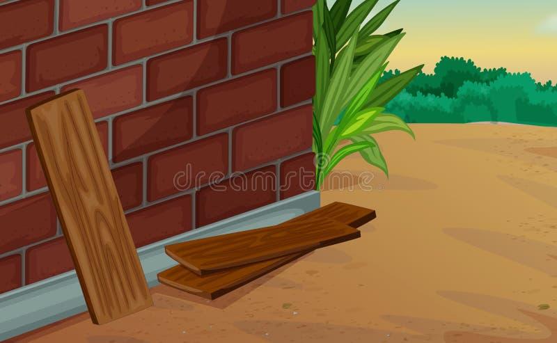 Download Corner stock illustration. Illustration of fern, plain - 25116842