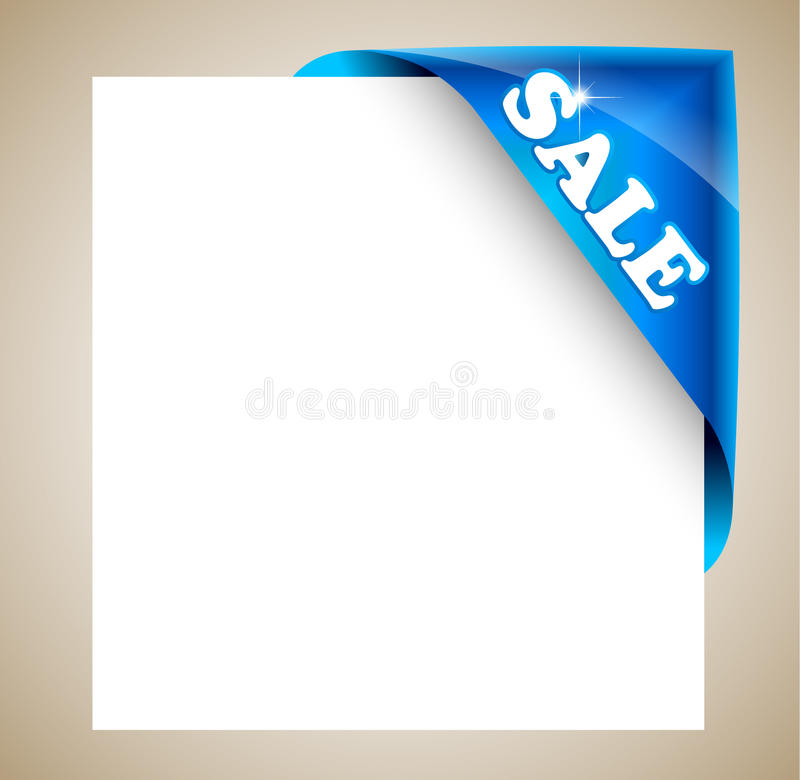 Corner Christmas Tag For Discount Image Framing Royalty Free Stock Photo