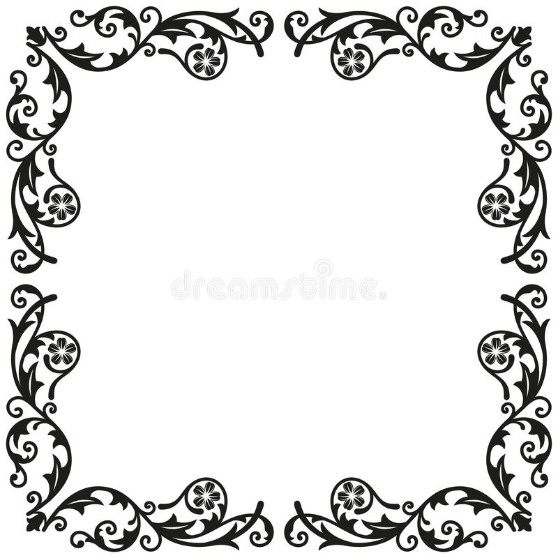corner elements decorative vintage ornament for design stock rh dreamstime com vintage border vector download vintage border vector free download