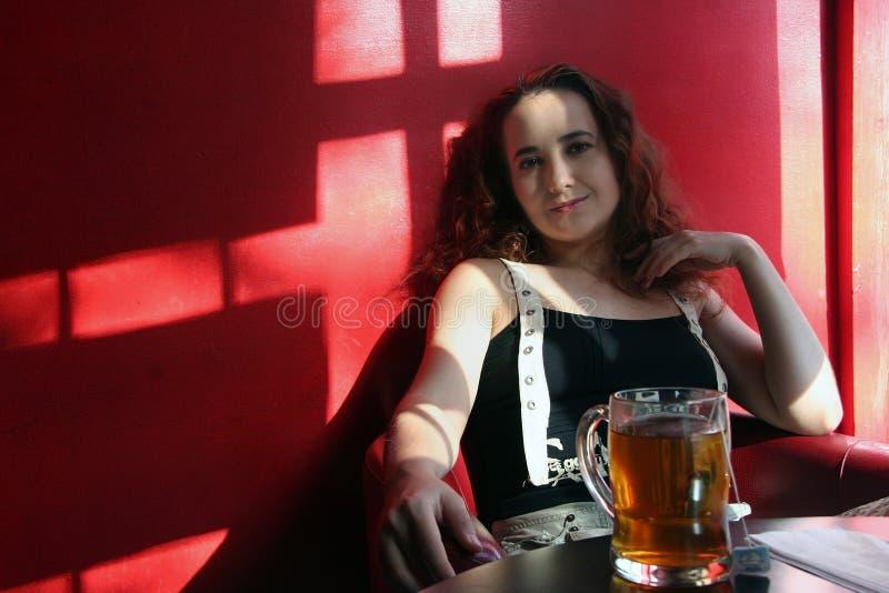 corner girl zdjęcie stock