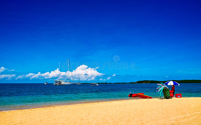 Corner of the Great Barrier Reef. Such beautiful beach of the Great Barrier Reef stock photography