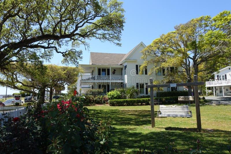 A Corner Inn in Southport, North Carolina. A Corner Inn in the Coastal Community of Southport, North Carolina royalty free stock image