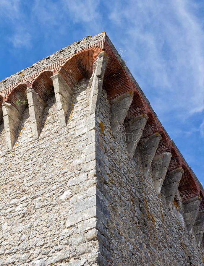 Free Corner Of A Castle Wall Stock Photos - 57296033