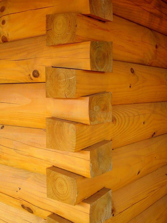 Free Corner Of Log Cabin Royalty Free Stock Photos - 4101468