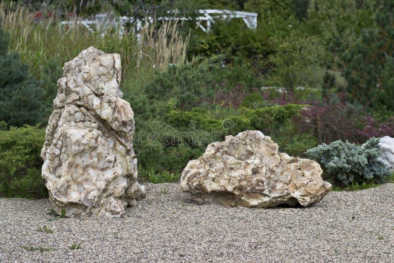 Corner of park of stones