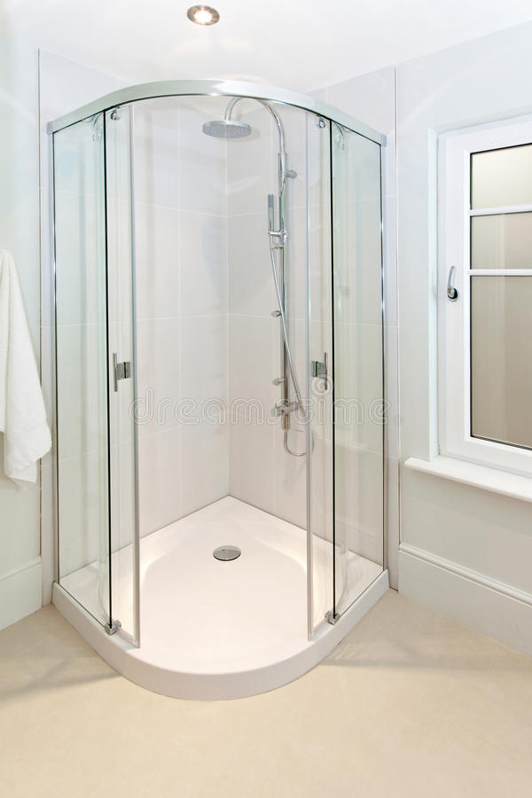 Corner shower royalty free stock photo