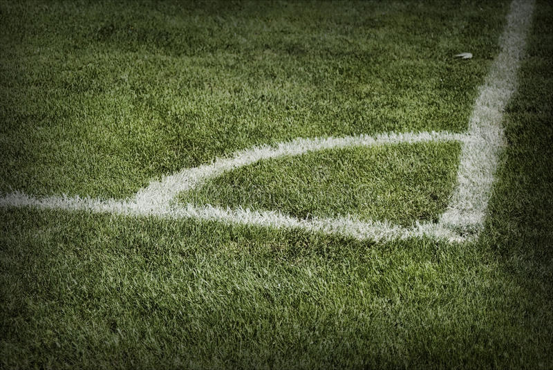 Download Corner of a soccer ground stock photo. Image of ground - 13602596