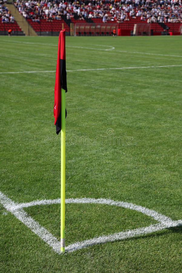 Download Corner Of Soccer Pitch Royalty Free Stock Images - Image: 19968009